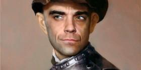 Cuadros clásicos con actores famosos: Robbie Williams