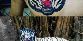 Si el tatuaje fuera real