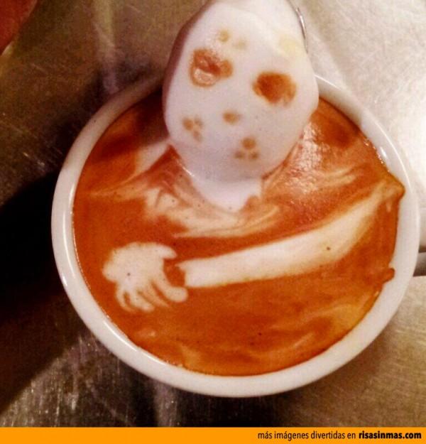 ¡Socorrooo! Jason saliendo de mi café