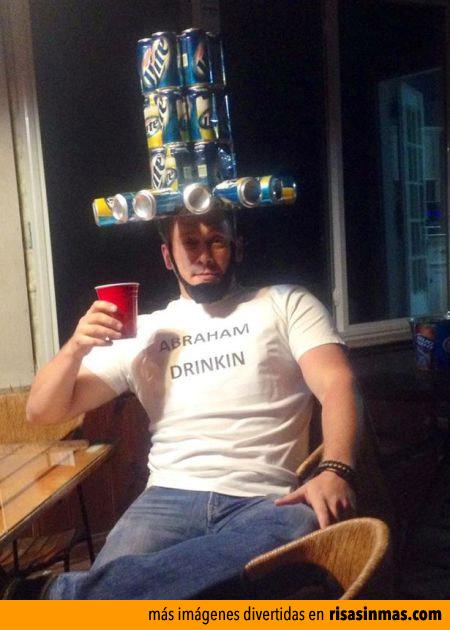 Sombrero de latas