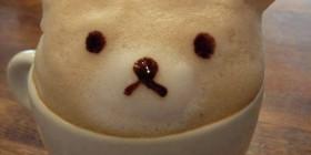 Un osito en mi café