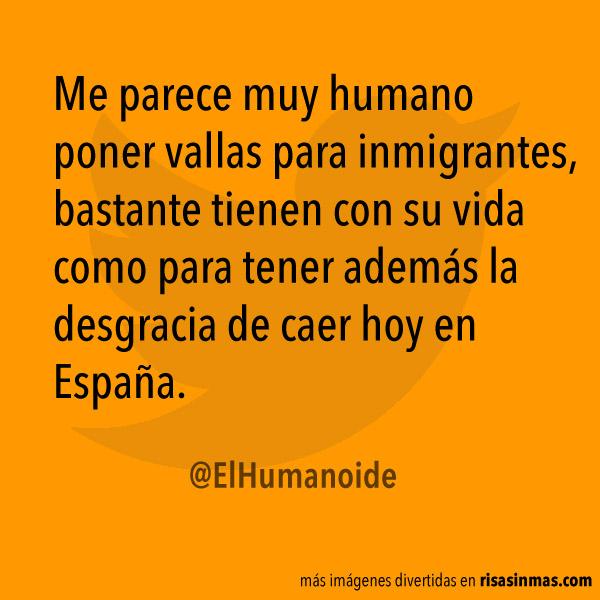 Vallas para inmigrantes