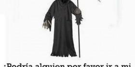 Vestido como la muerte