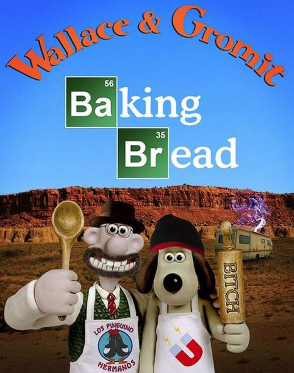 Wallace & Gromit: Baking Bread