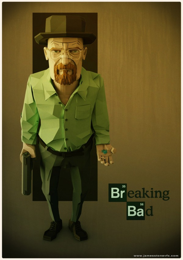 Walter White en 3D