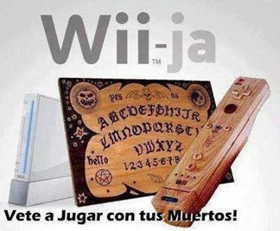 Wii-ja, vete a jugar con tus muertos