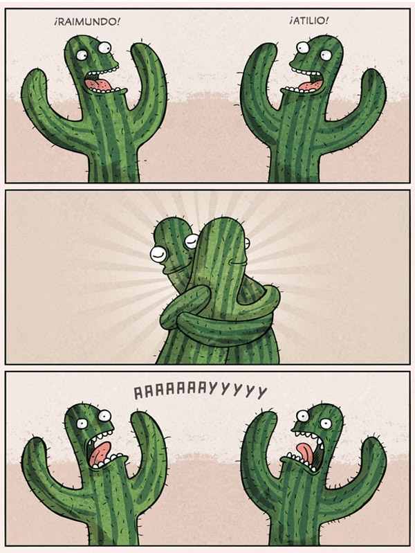 ¡Dame un abrazo, amigo!