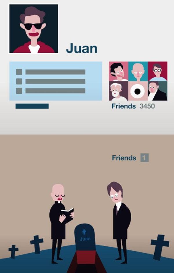 La amistad en tiempo actual