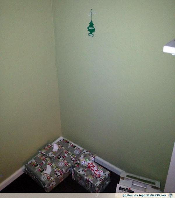 Árbol de Navidad minimalista