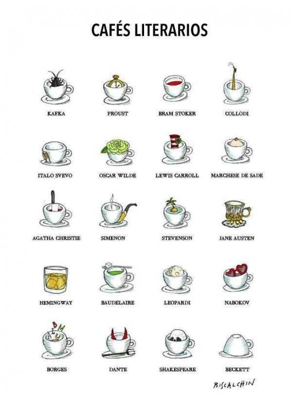 Cafés literarios