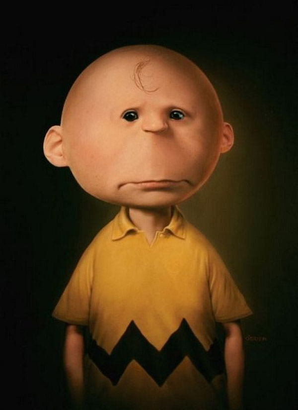 Charlie Brown realista