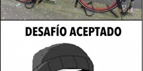 Bicicleta anti-ladrones: desafío aceptado