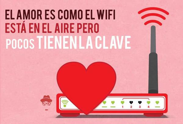 El amor es como el WiFi