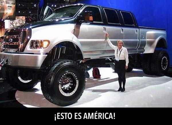 ¡Esto es América!