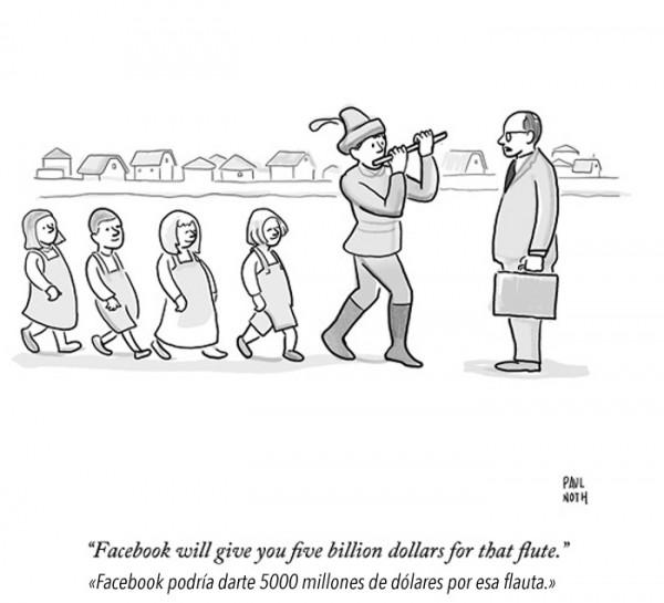 Facebook quiere comprarte la flauta