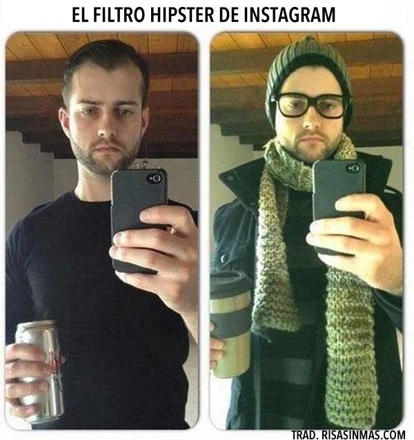 El filtro hipster de Instagram