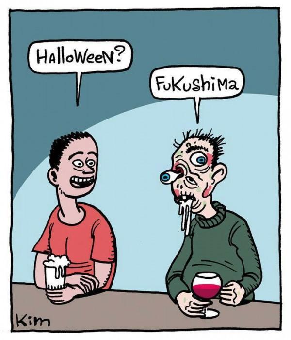 ¿Halloween? Fukushima