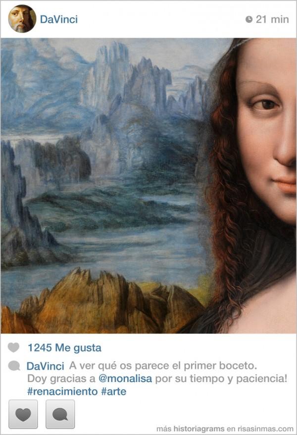 Leonardo DaVinci: el primer boceto