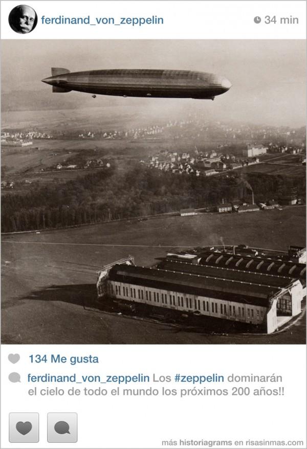 Los zeppelin dominarán el cielo