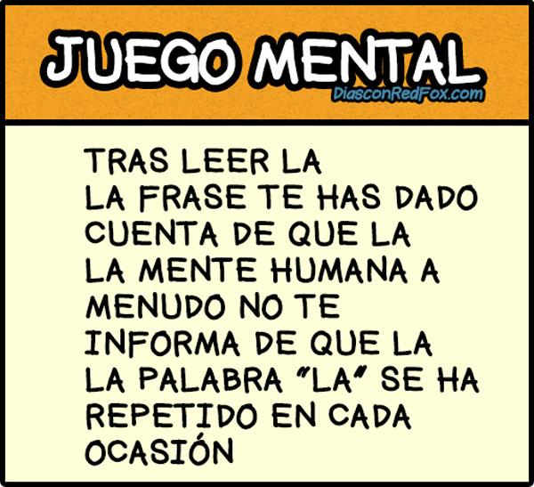 Juego mental