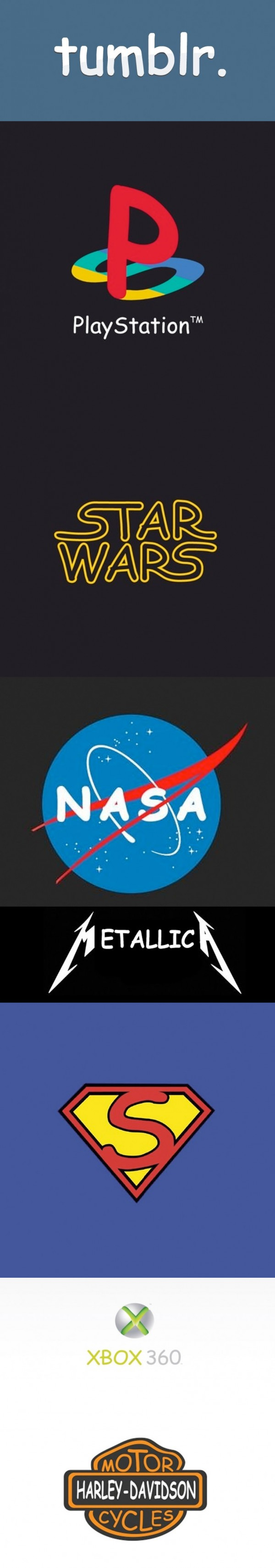 Logos famosos en Comic Sans