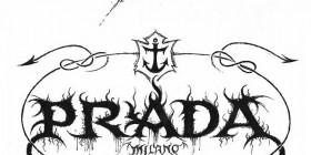 Logos de empresas famosas como bandas de heavy metal