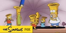 Los Simpson transformados en instrumentos musicales