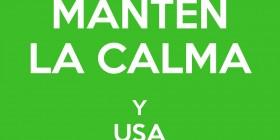Mantén la calma y usa WhatsApp