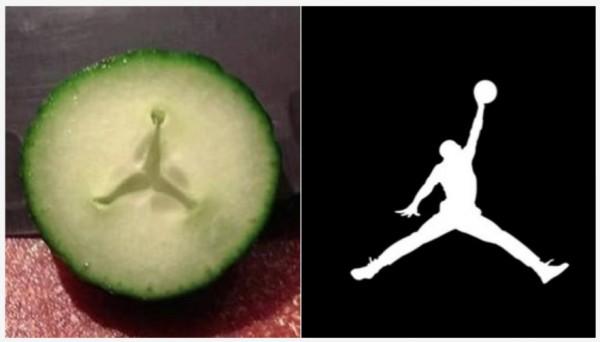 ¡Milagro, Michael Jordan en el pepino!