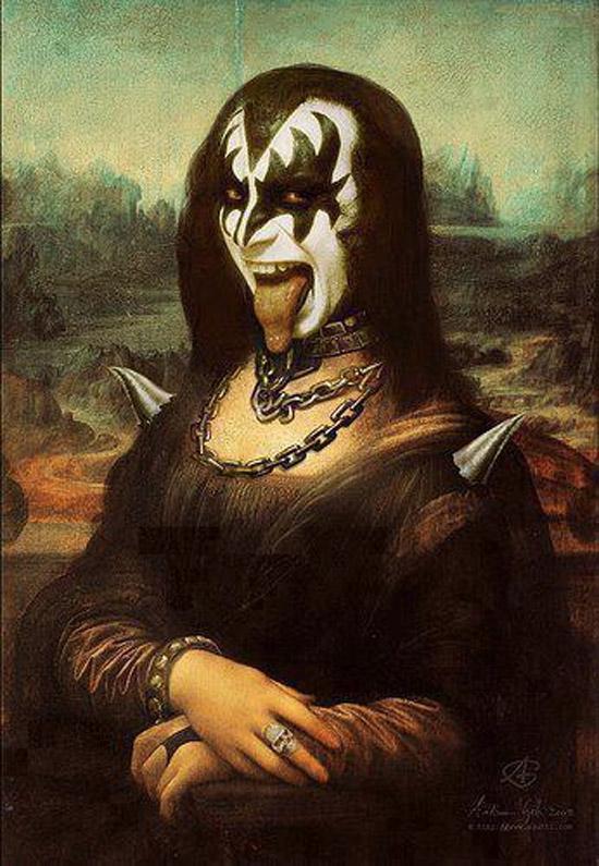 Mona Lisa versión Kiss