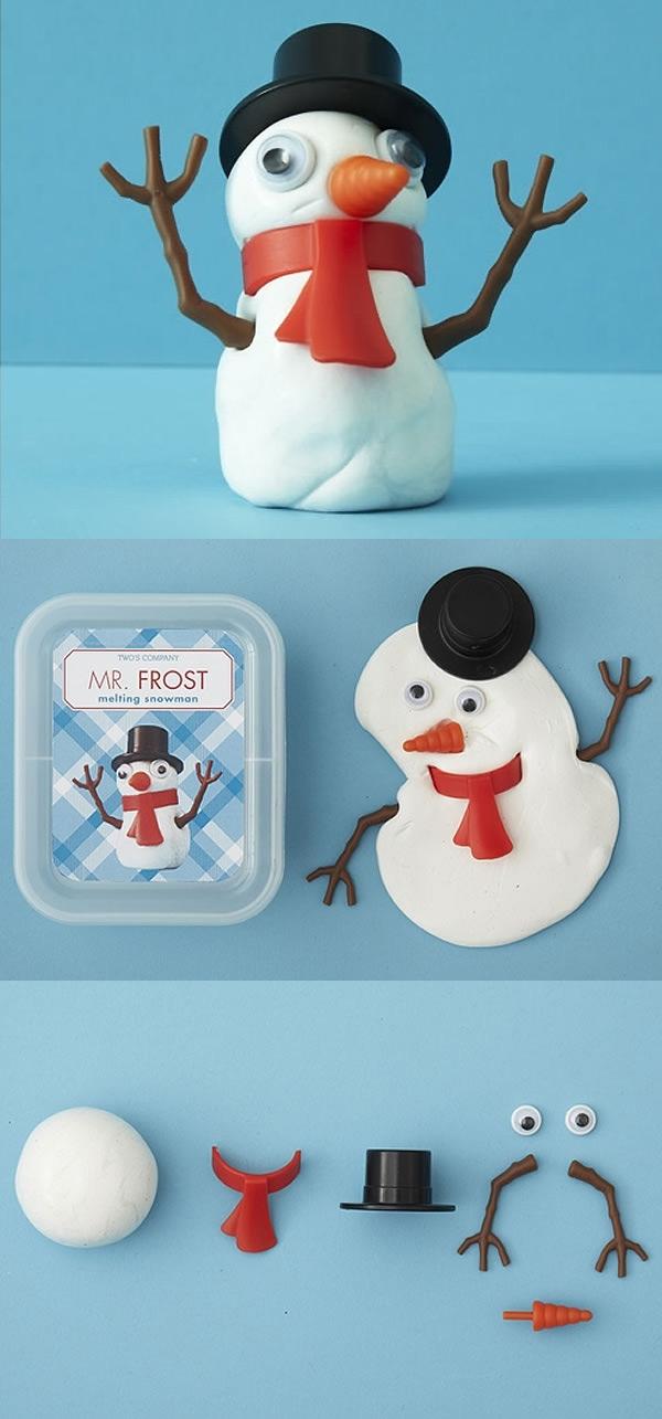 MR. FROST, construye tu propio muñeco de nieve