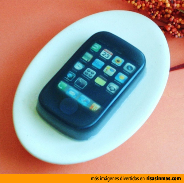 Pastilla de jabón iPhone