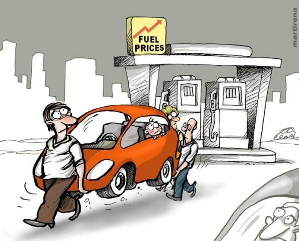Si sigue subiendo el precio de la gasolina