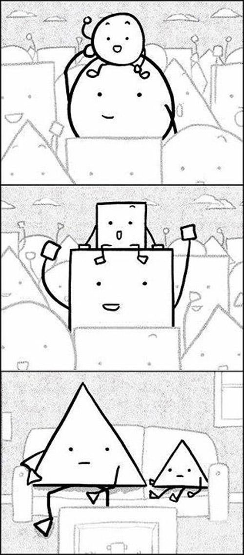 Un probléma de ángulos