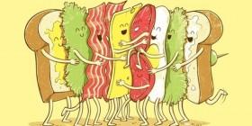 Y así es como se hace un sandwich