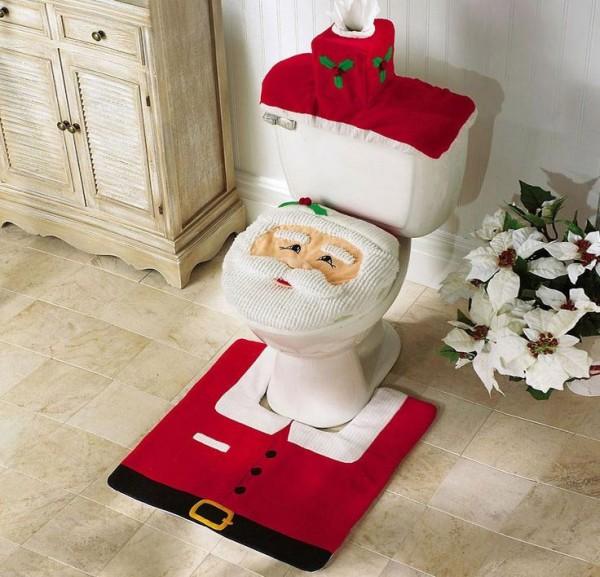 Pesadilla de Navidad en el baño