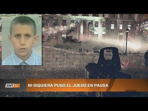 Soldados de Call of Duty mueren por culpa de un niño