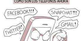 Cómo eran los teléfonos y cómo son