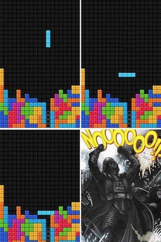 Tetris, imagen de la desesperación