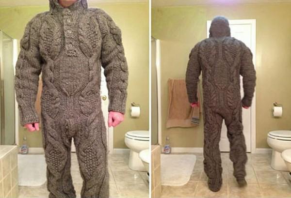 Traje de lana para este invierno