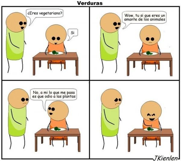 Razón para ser vegetariano