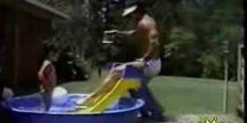 Vídeos de caidas en la piscina