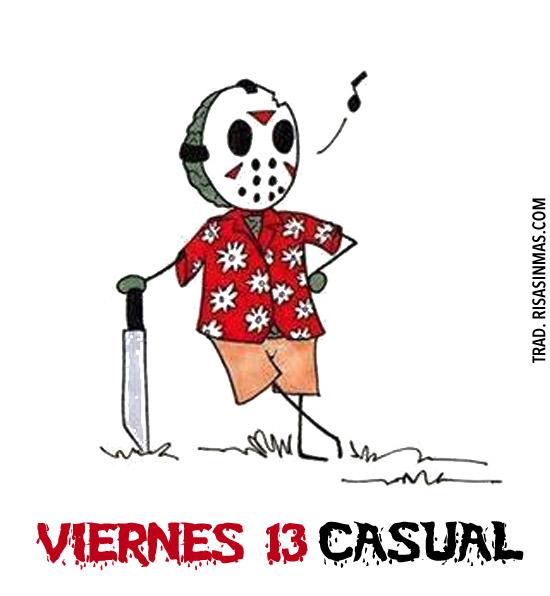 Viernes 13 casual