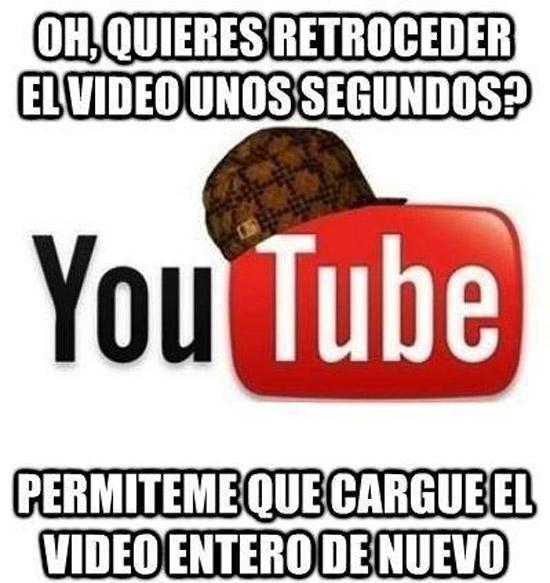 YouTube se rebela
