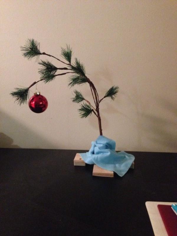 Árbol de Navidad para tiempos de crisis