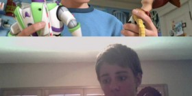 Andy de Toy Story en la vida real