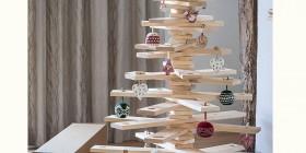 Árboles de Navidad originales: de madera