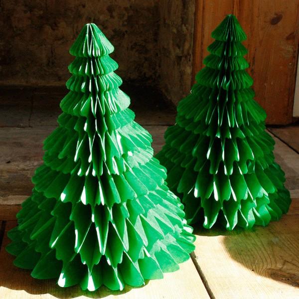 rboles de navidad originales de papel
