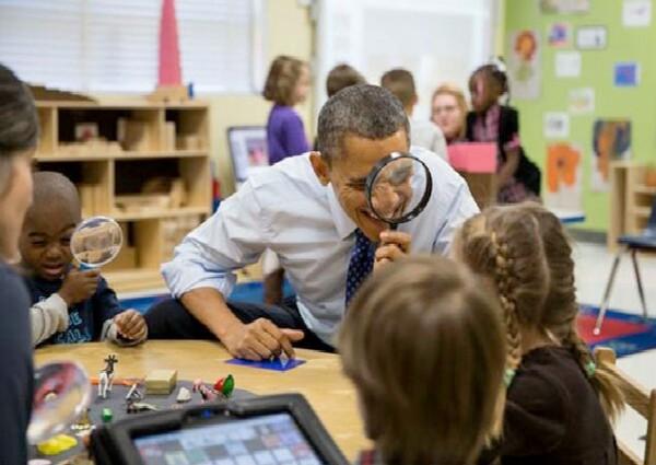 Barack Obama te observa