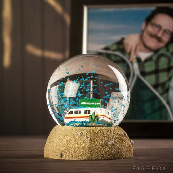 El regalo de estas navidades: Bola de nieve de Breaking Bad